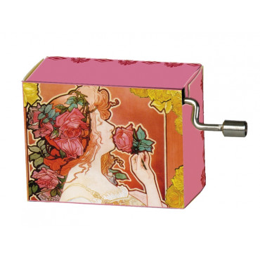 Serinette La Vie en Rose motifs Roses