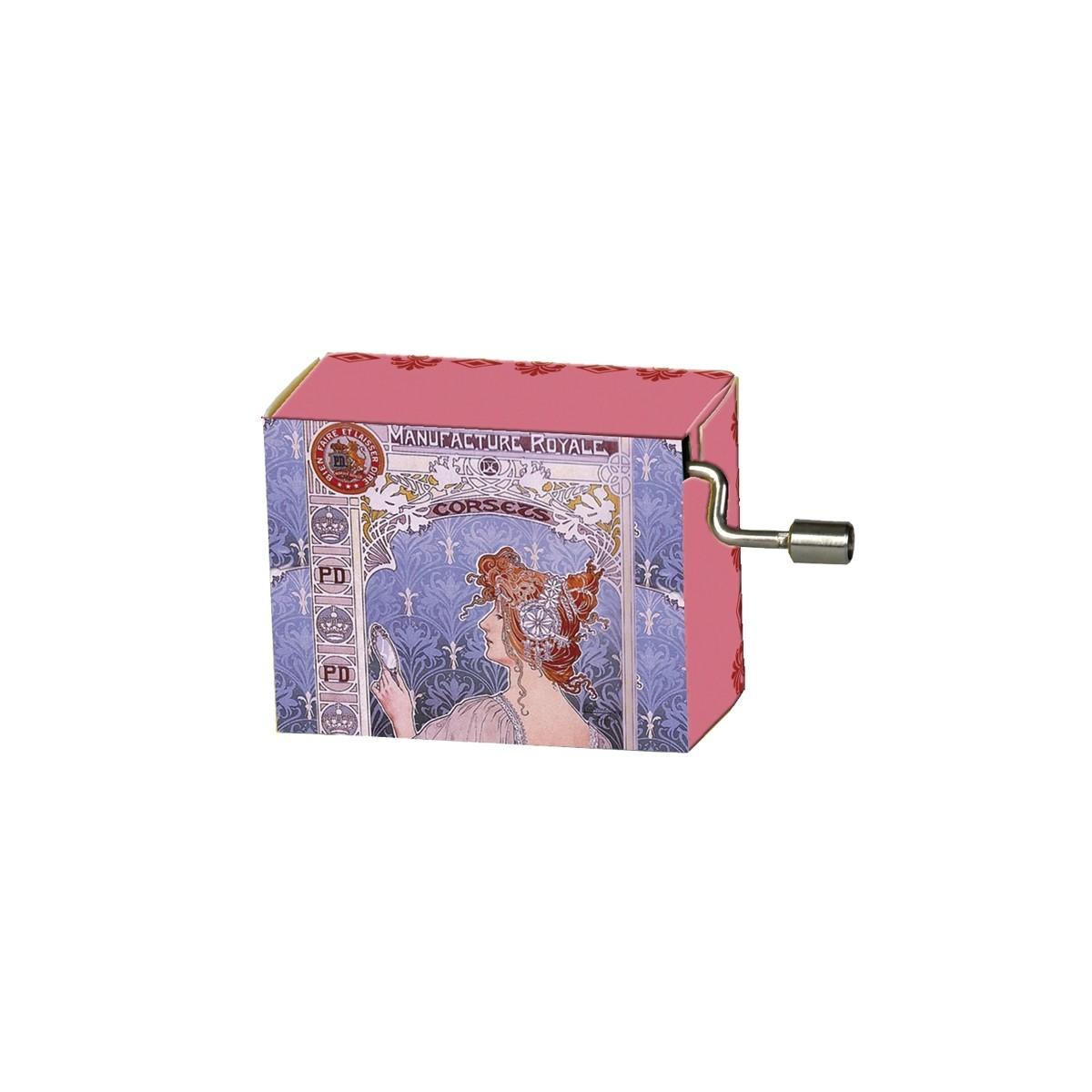 Serinette La Vie en Rose motifs Manufacture Royale