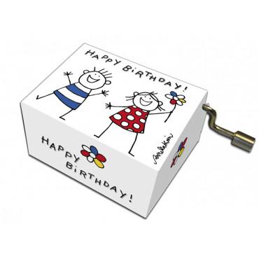 Serinette Happy Birthday motifs Enfants