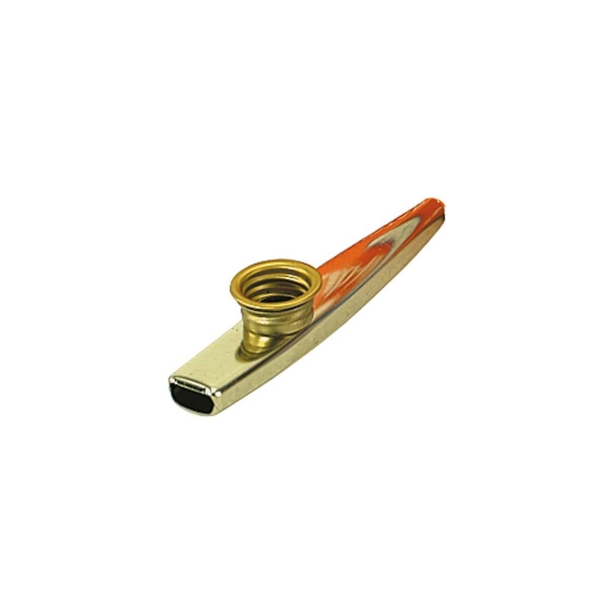 Kazoo métal doré