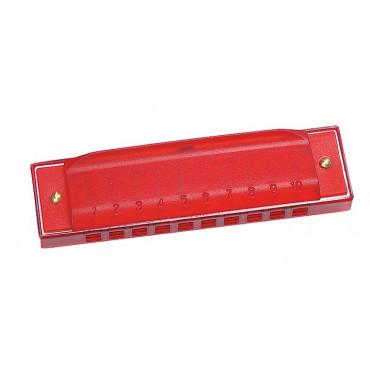 Harmonica enfant 10 trous - Rouge
