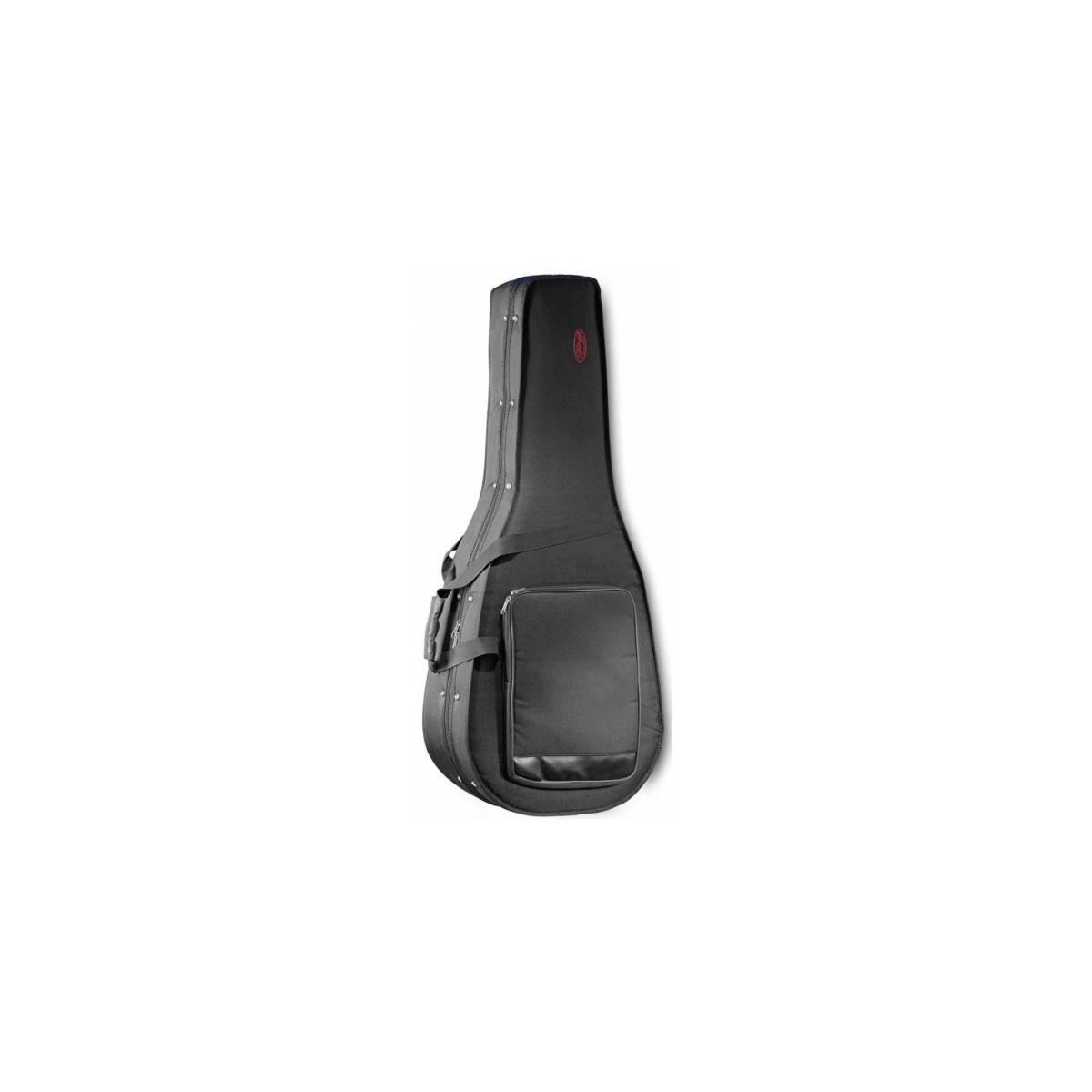 Housse rigide guitare folk 4 4 stagg accessoires for Housse guitare