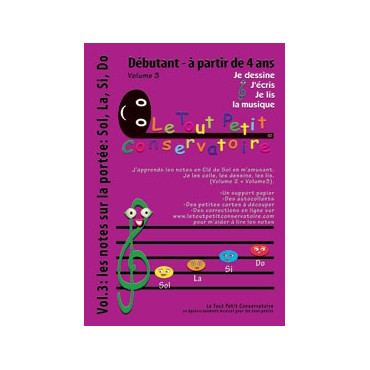 Le Tout Petit Conservatoire 4-6 ans - Volume 3
