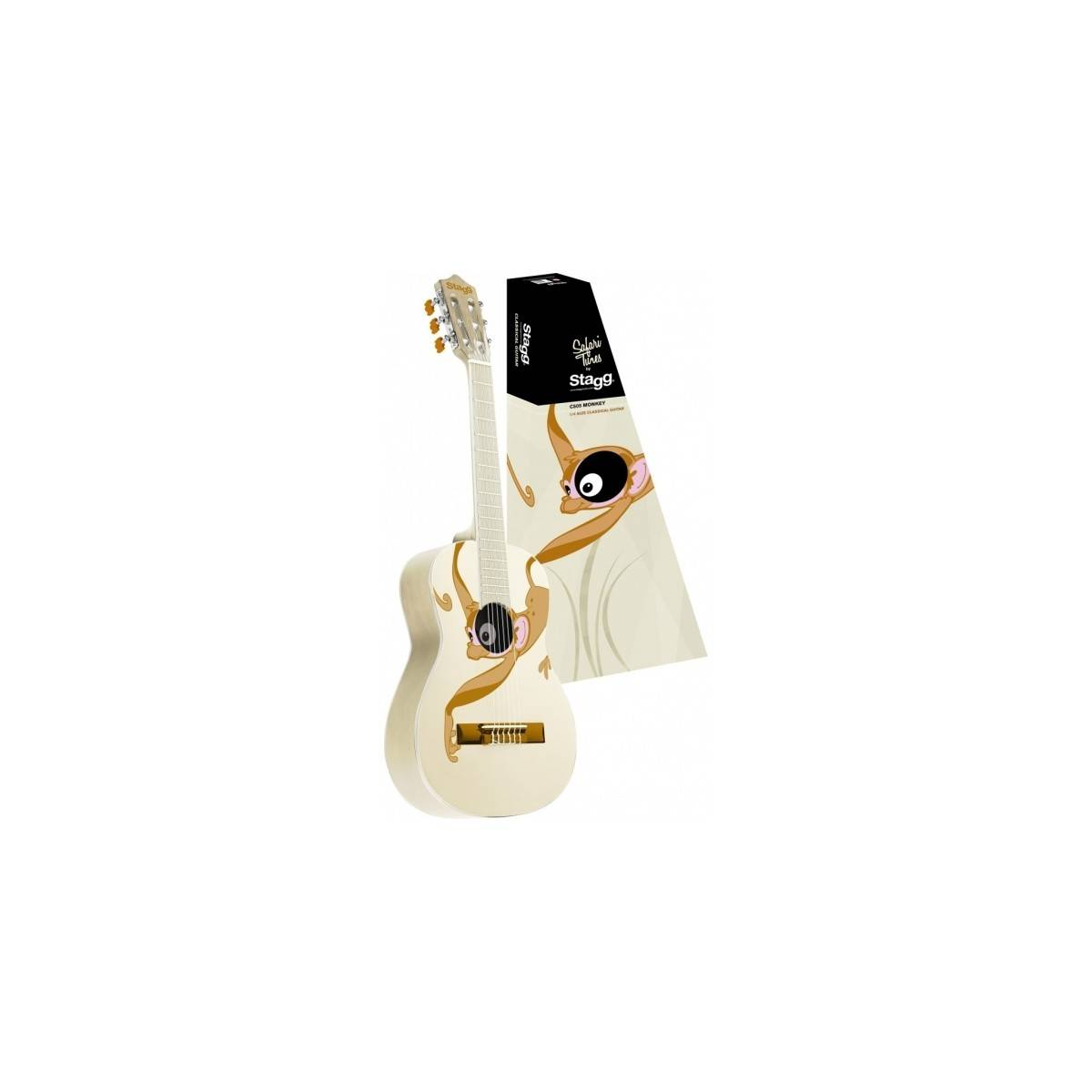 Guitare Enfant 1/4 Classique Singe