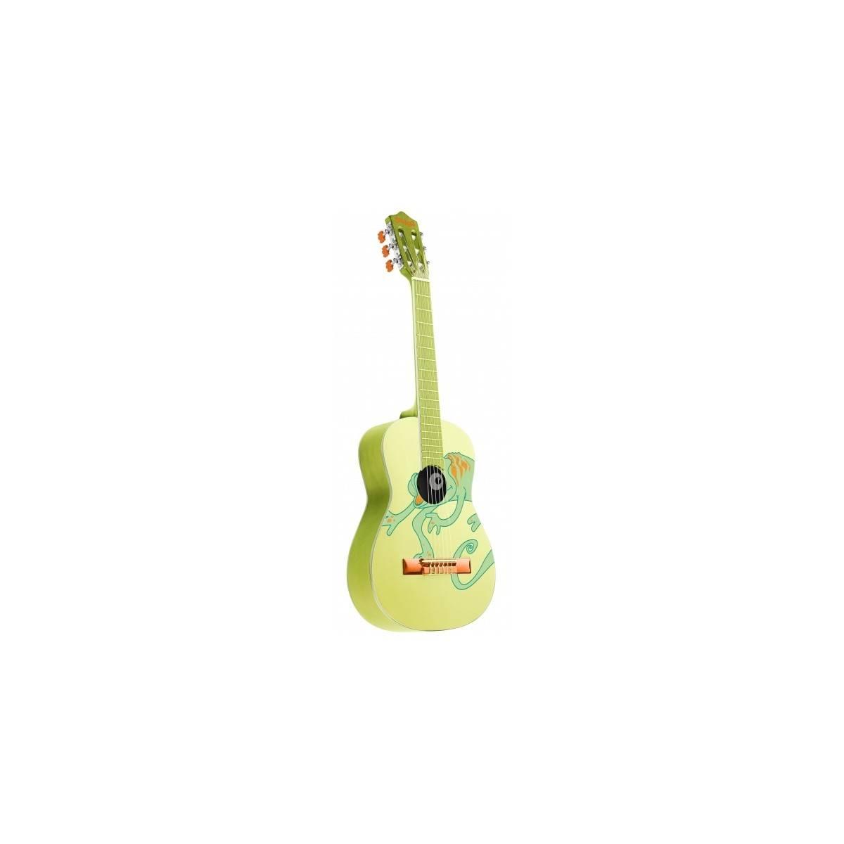 stagg s rie safari tunes guitare enfant classique 3 4 chameleon guitare classique enfant. Black Bedroom Furniture Sets. Home Design Ideas