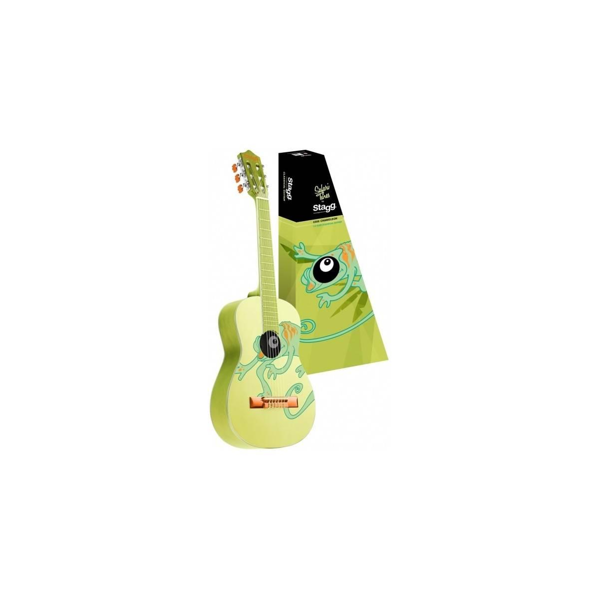 Guitare Enfant 3/4 Classique Caméléon