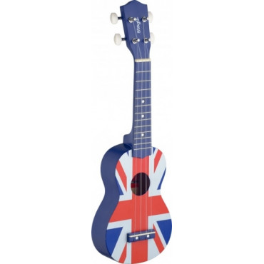 Ukulélé Soprano Union-Jack drapeau Anglais