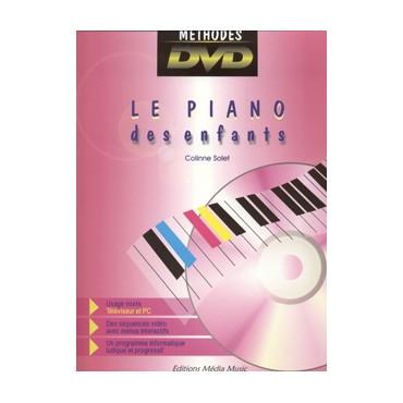 Le piano des enfants - recueil + DVD
