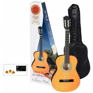 Pack Guitare Classique 3/4 - Almeria Player Pack