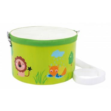 Mini-Tambour jouet- motifs Jungle