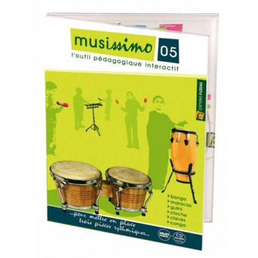 Musissimo Num5 pour percussions
