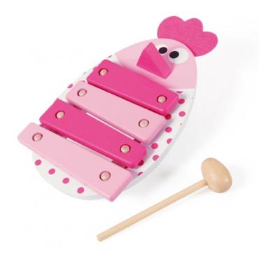 Xylophone jouet Poulette