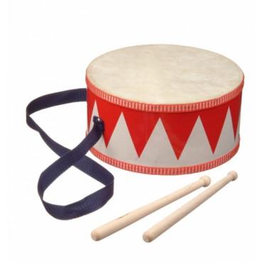 new classic toys tambour de fanfare enfant tambours baguettes noizikidz. Black Bedroom Furniture Sets. Home Design Ideas