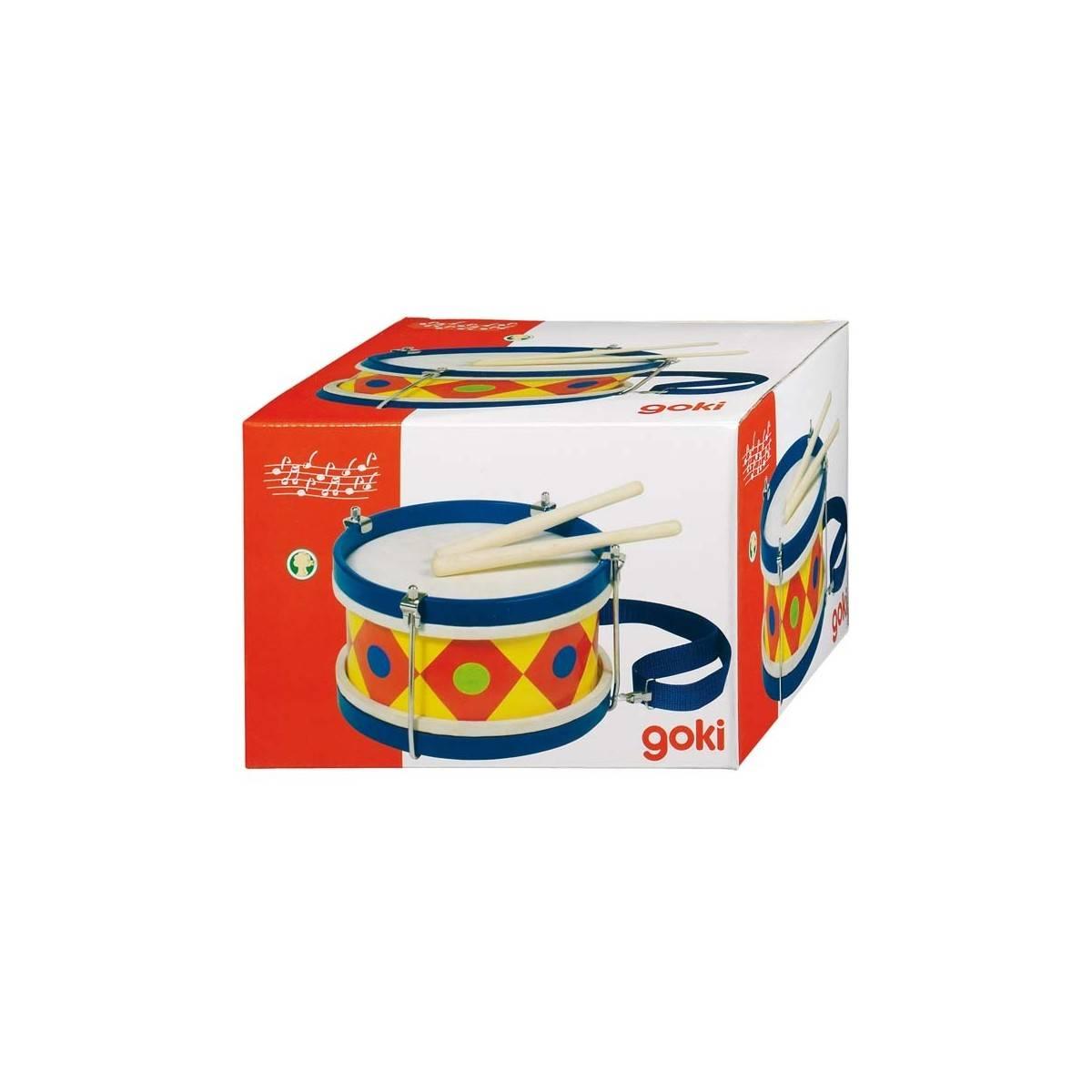 goki tambour de fanfare jouet color percussions enfants. Black Bedroom Furniture Sets. Home Design Ideas