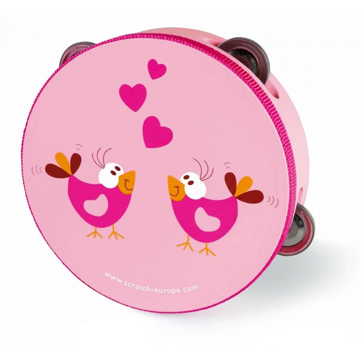 Tambourin Jouet Love Birds