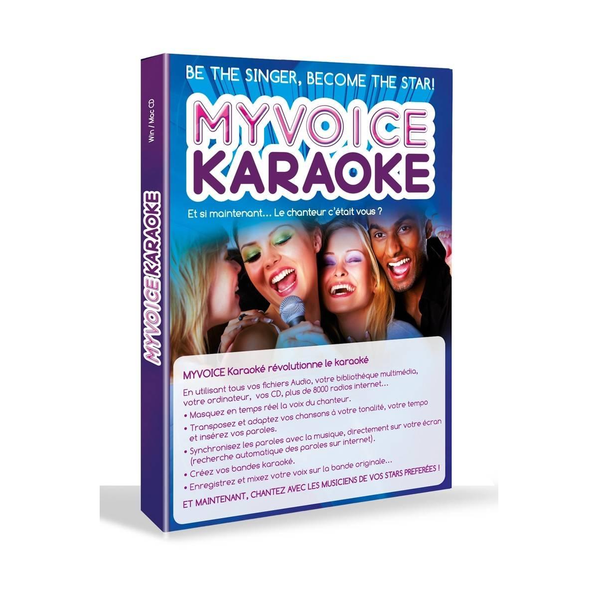 Logiciel MyVoice Karaoké