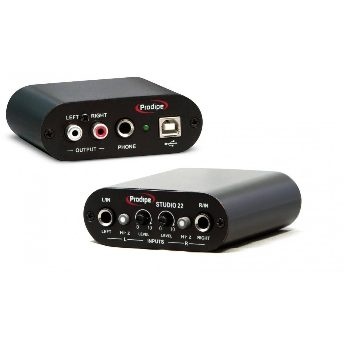 Carte Son USB Studio 22