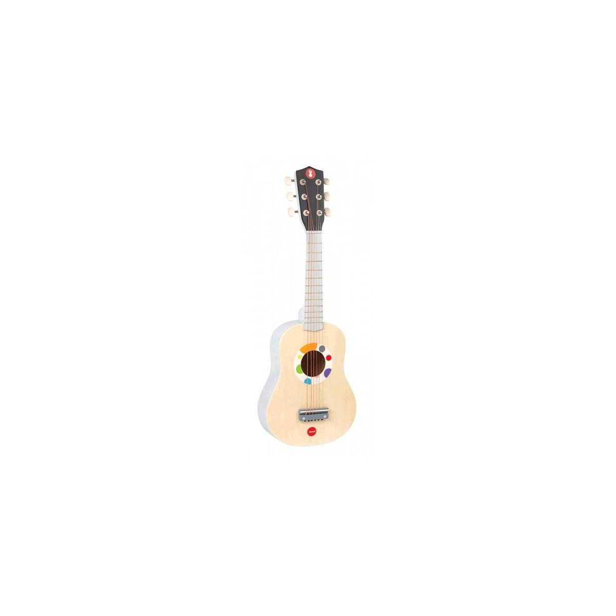 Guitare jouet Naturelle série Confetti