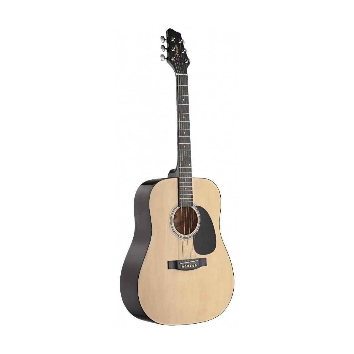 guitare folk 4 4 d butant guitare acoustique stagg. Black Bedroom Furniture Sets. Home Design Ideas