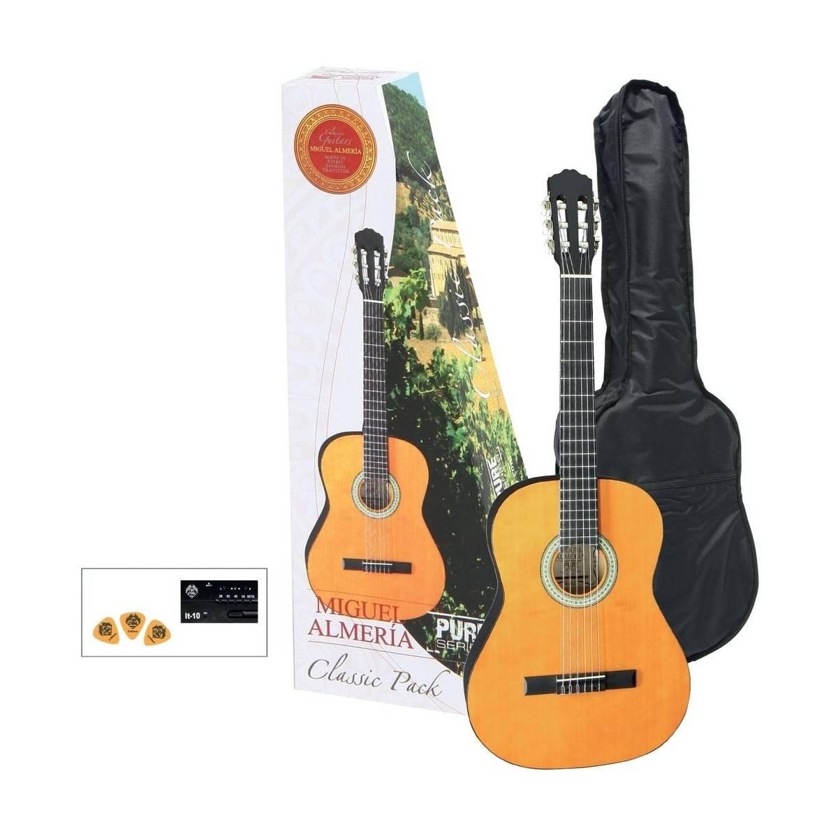 Pack Guitare Classique 4/4 Epicéa - Almeria Player Pack