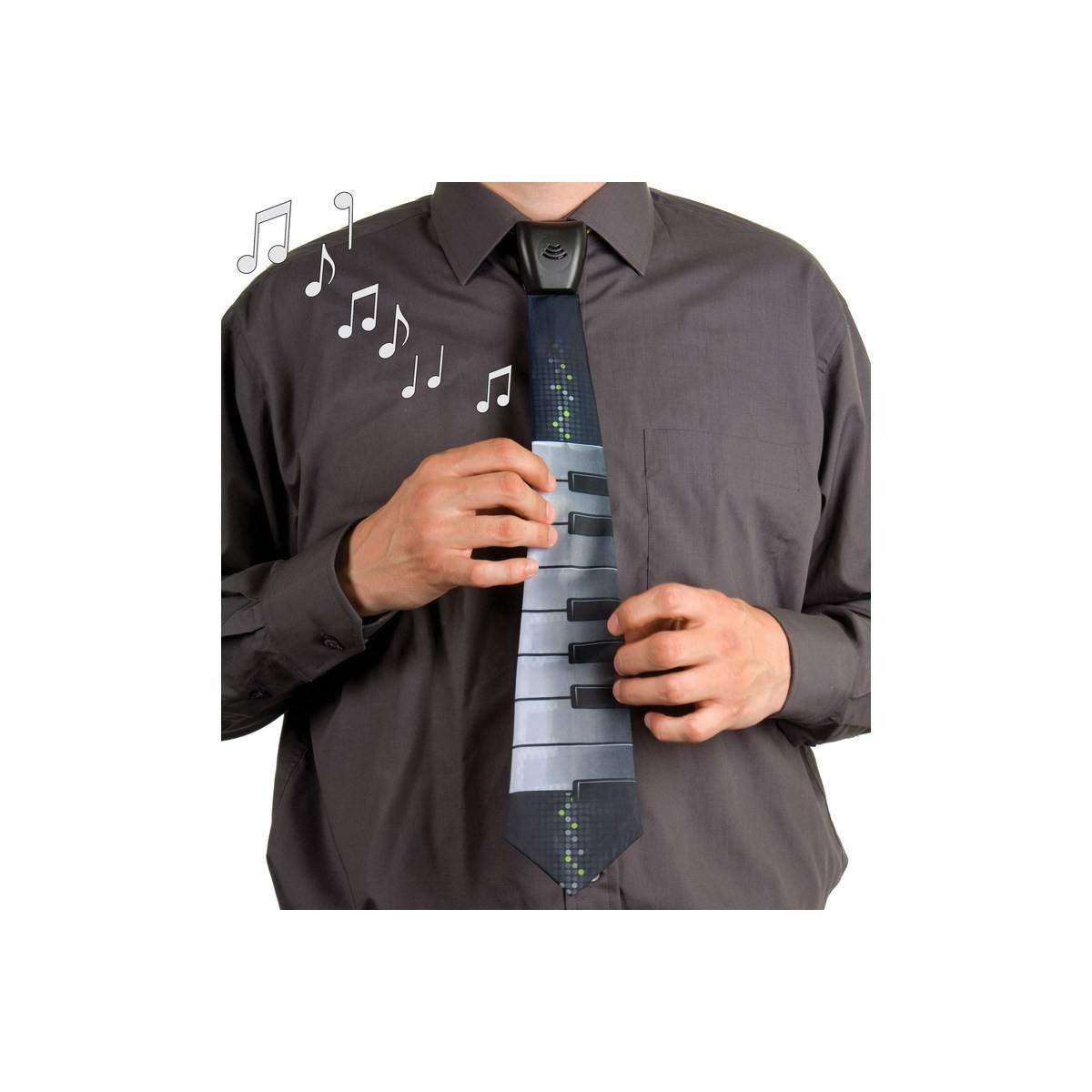 Cravate Musicale