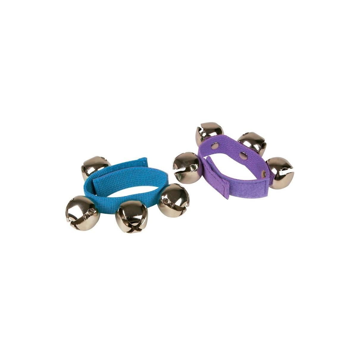 Bracelet de grelots Coloré