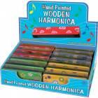 Harmonica Bois Multicolore