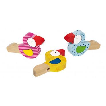 Set de 3 Sifflets Oiseaux