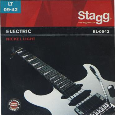 Jeu de cordes guitare électrique Light