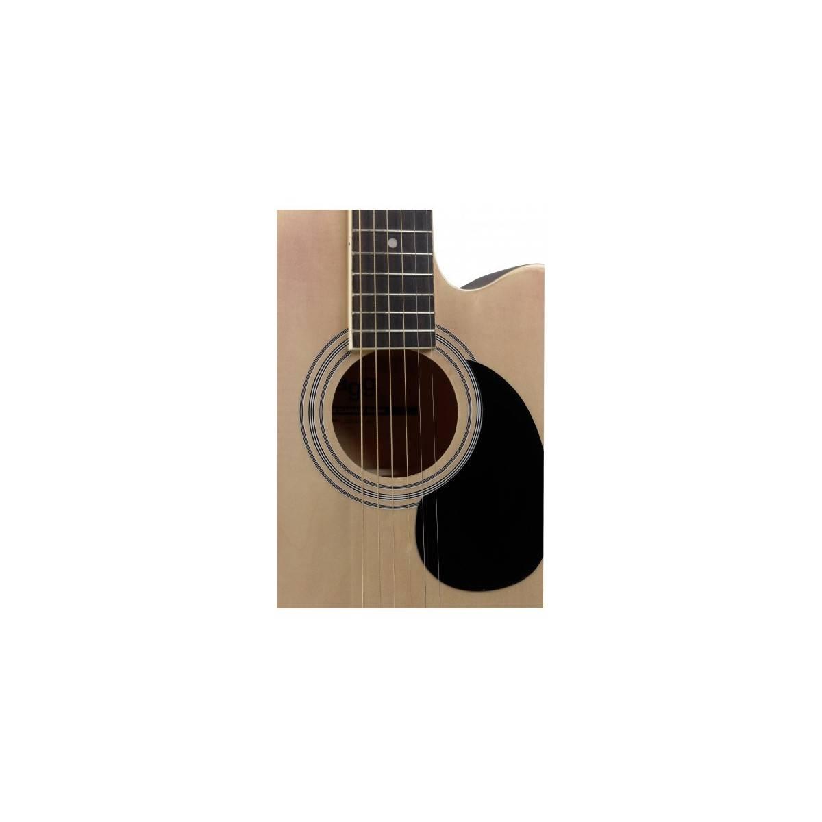 Guitare Folk Electro-Acoustique Naturel
