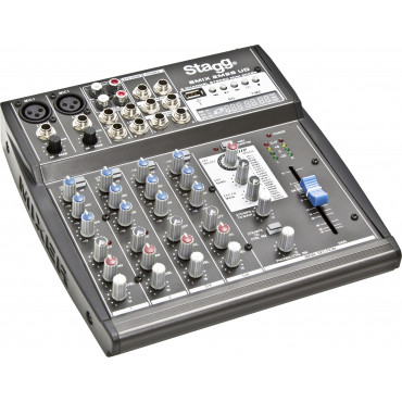 Mini Table de mixage 4 pistes + USB