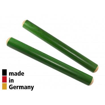 Claves Hêtre 20X2cm Vert - 1+