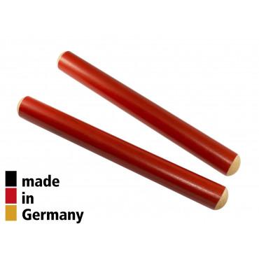 Claves Hêtre 20X2cm Rouge - 1+