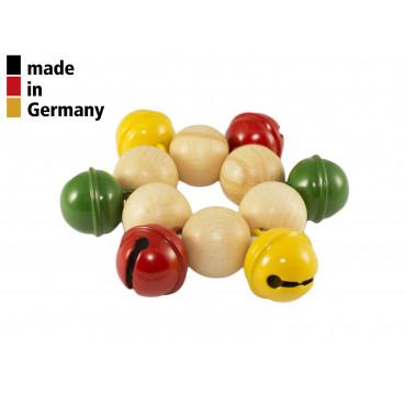 Bracelet - 6 Grelots Colorés - 1+