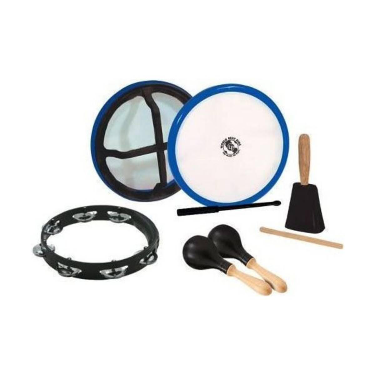 Set de Percussions - 4 Instruments - LP Percussion
