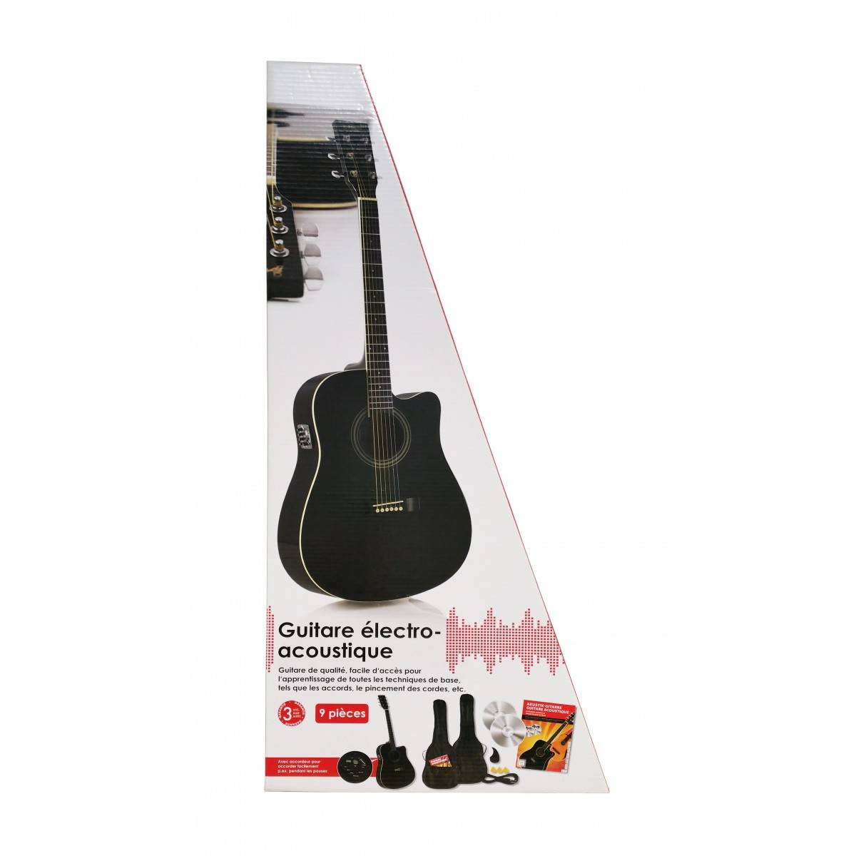 Pack Guitare Electro-acoustique