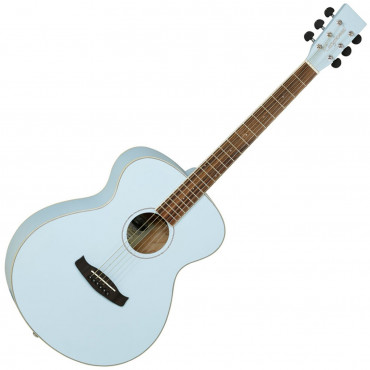 Guitare acoustique Discovery Folk Surf Blue Mat Tanglewood DBTFSBL