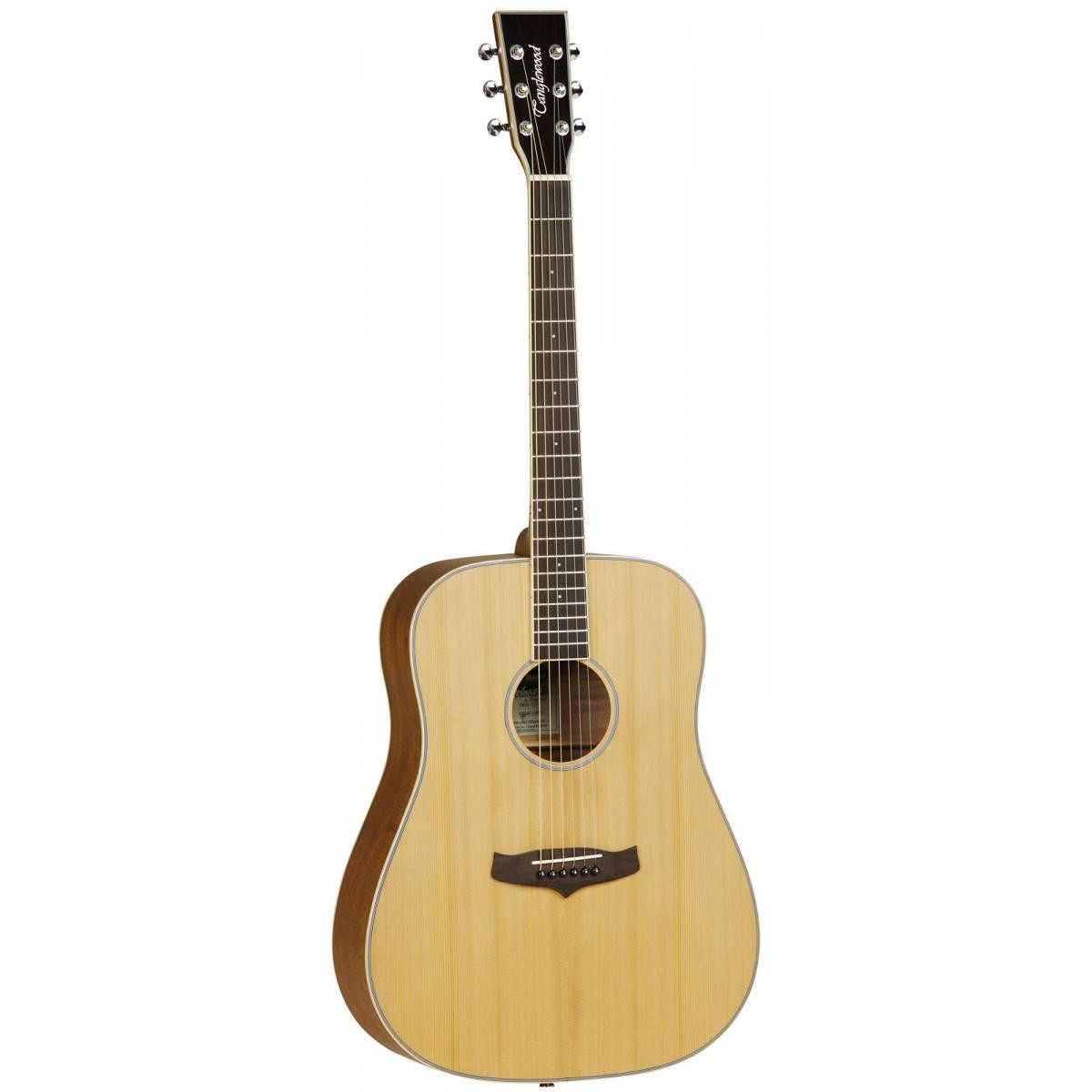 Guitare acoustique Evolution IV Dreadnought Natural Satin Tanglewood TW28CLN