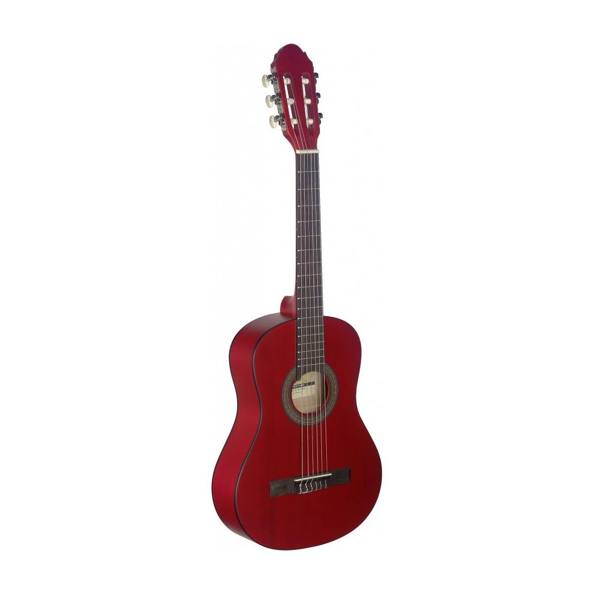 Guitare enfant 1/2 classique Rouge