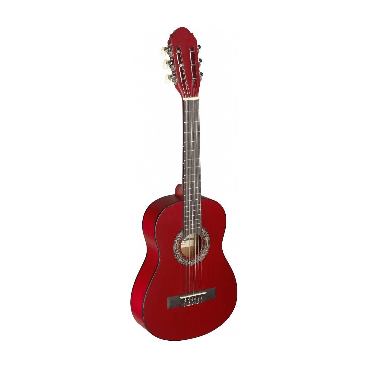 guitare classique enfant guitare 1 4 rouge stagg guitare d butant instruments enfants. Black Bedroom Furniture Sets. Home Design Ideas