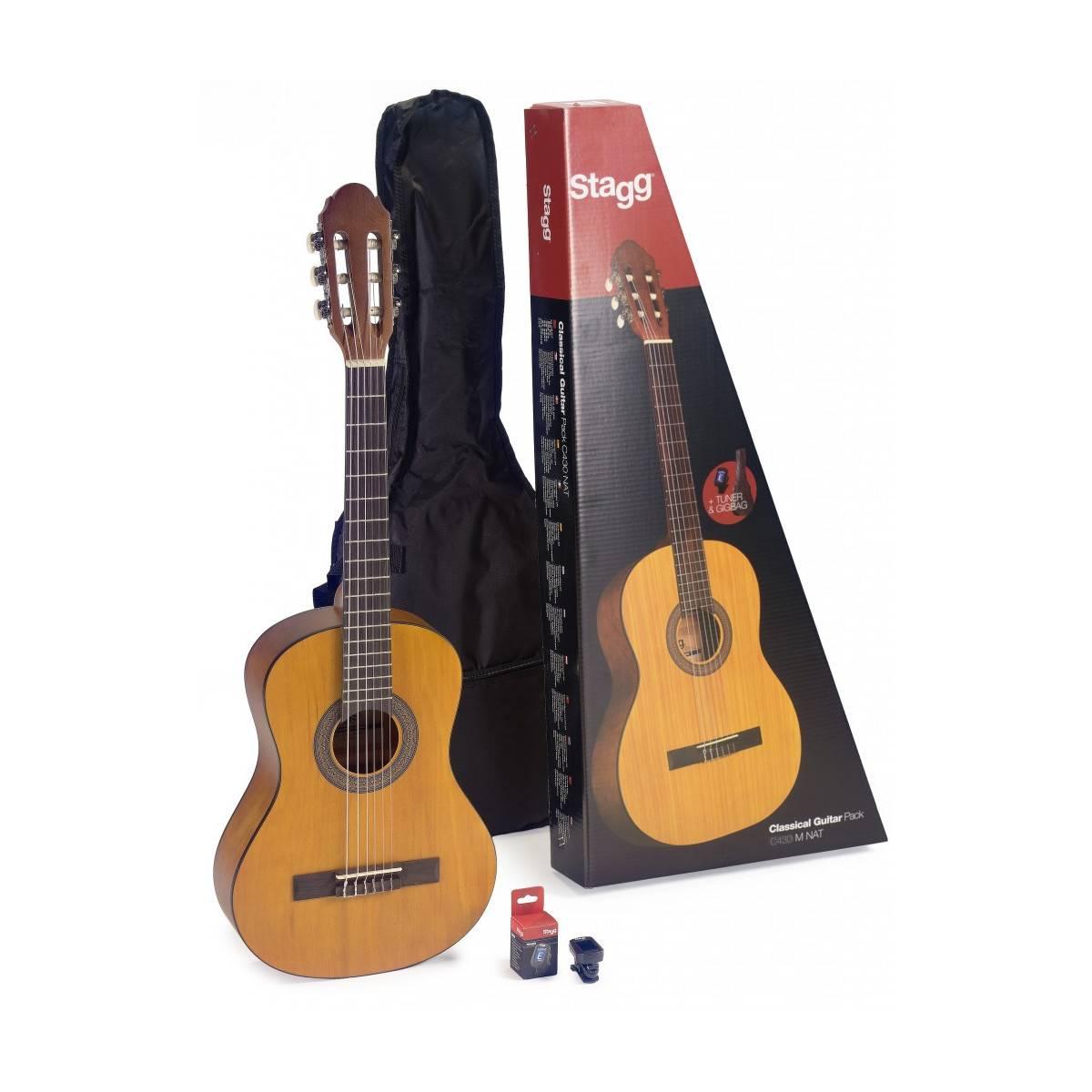 Pack Guitare Classique 3/4 Tilleul