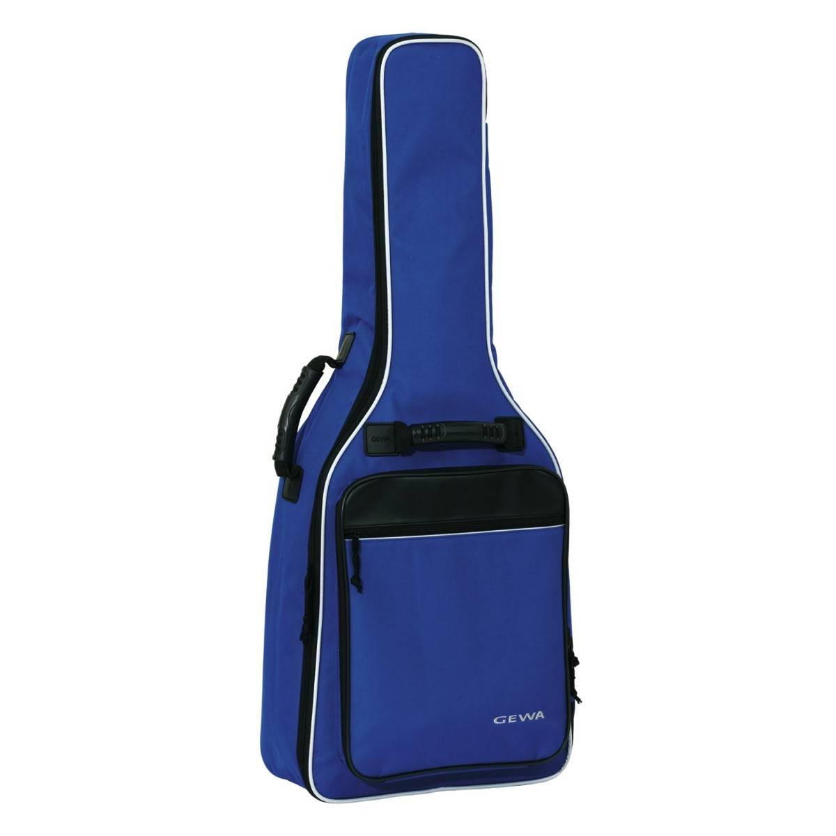 Gewa Housse guitare Bleu 1/2 Economy 12