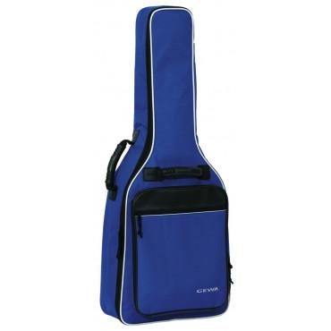 Gewa Housse guitare Bleu 3/4-7/8 Economy 12