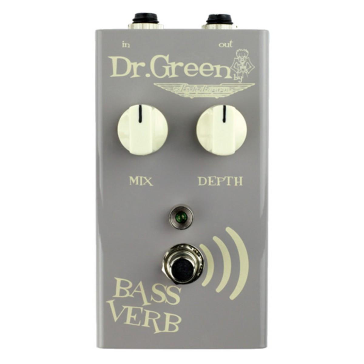 Pédale d'effet reverb Bass Verb  Dr. Green