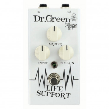 Pédale d'effet compresseur Life Support Dr. Green
