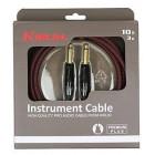 Câble guitare Premium Plus  Jack/Jack 3M Kirlin