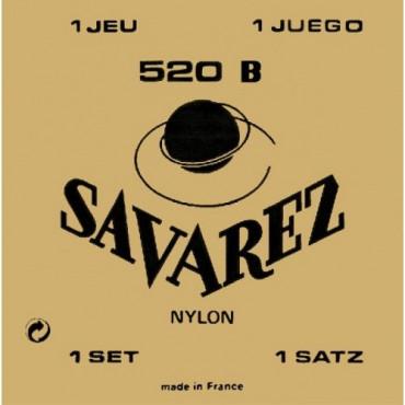 Jeu de cordes 520B Faible Tirant Savarez