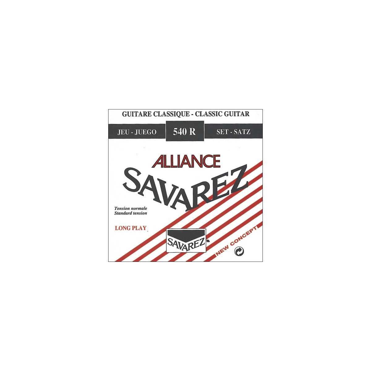 Cordes Savarez guitare classique Alliance 540R