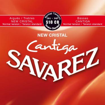 Jeu de cordes New Cristal Cantiga Savarez 510 CR