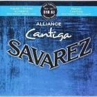 Savarez Classique Cantiga Bleu 510 AJ - Jeu de cordes guitare